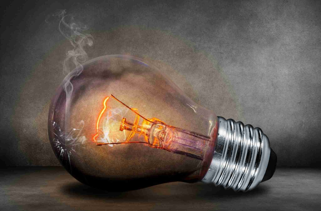 light bulb current
