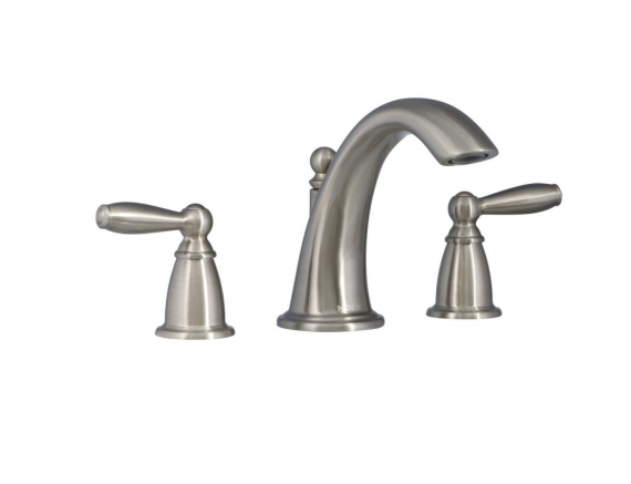 Brantford 2-Handle Deck-Mount Roman Tub Faucet Trim Kit in Brushed Nickel (Valve Not Included)