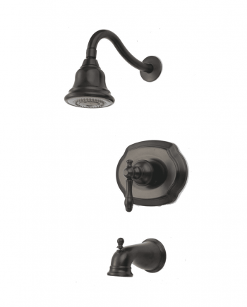 Lyndhurst Single-Handle,Spray, Tub and Shower Faucet in Bronze
